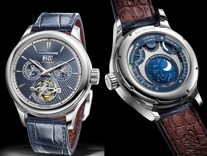 El increíble L.U.C All-in-One de Chopard, un reloj con catorce complicaciones