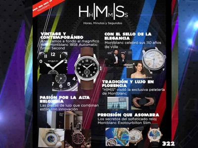 "H|M|S Programa #322 ""Best and New"" de Montblanc"
