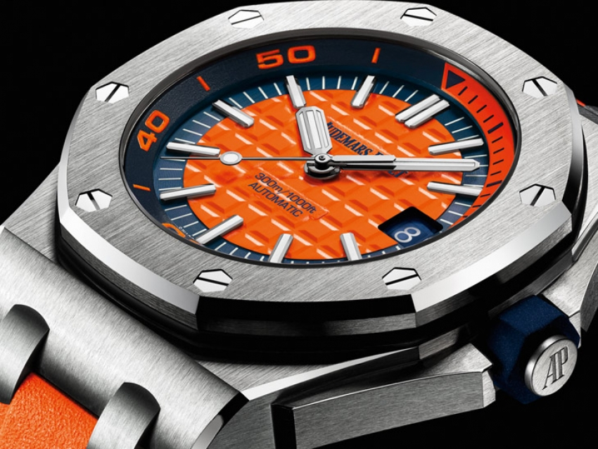Audemars Piguet apuesta por el color con el Royal Oak Offshore Diver