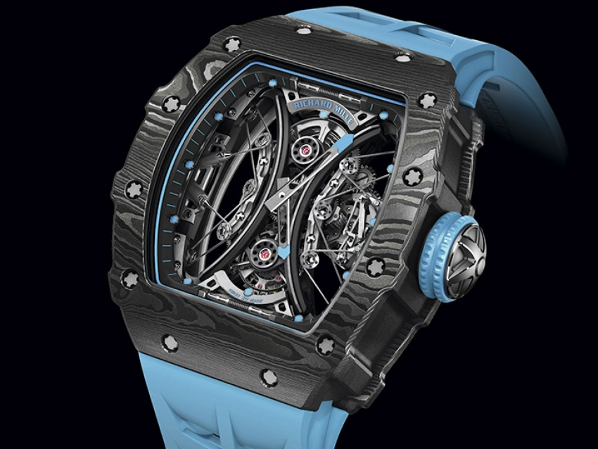 SIHH 2018: Richard Mille presentó el RM 53-01 Tourbillon Pablo Mac Donough