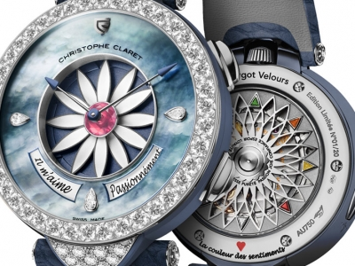 Christophe Claret seduce con el Margot Velours