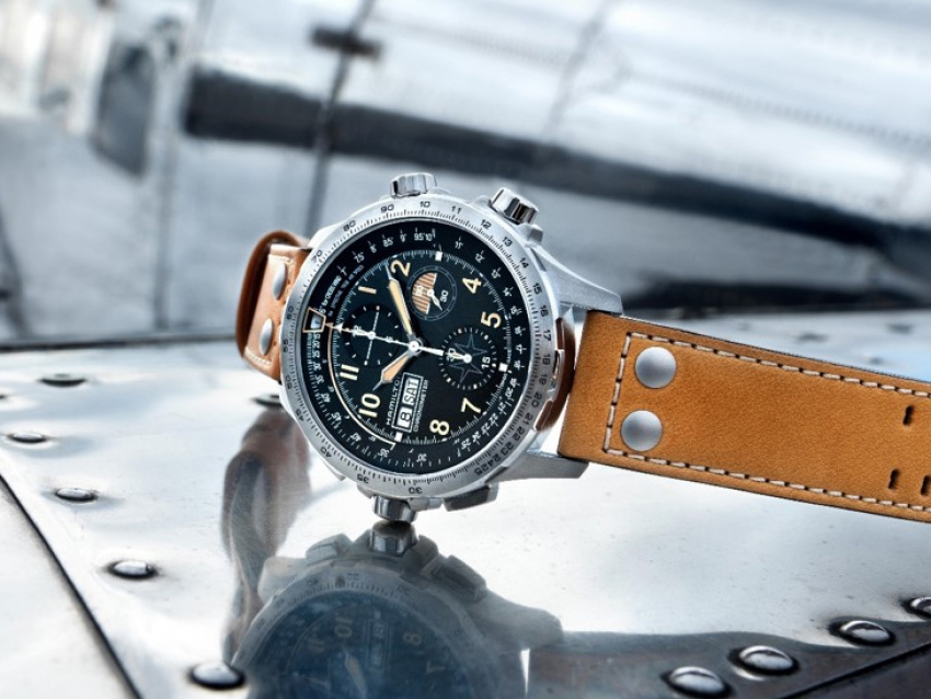 Baselworld 2018: Hamilton Khaki X-Wind Auto Chrono Limited Edition