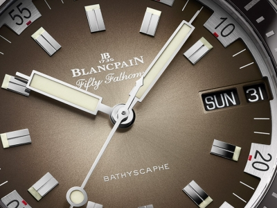 Blancpain Fifty Fathoms Bathyscaphe Day Date 70s