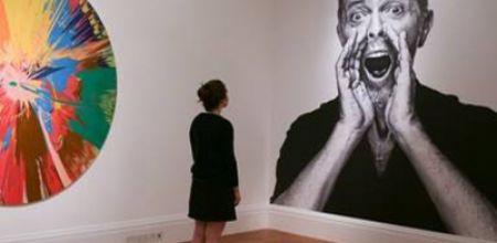 Subastaron la colección de arte de David Bowie