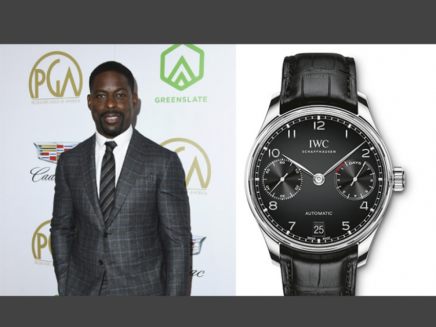 Sterling K. Brown usó un espectacular reloj IWC en los premios Producers Guild