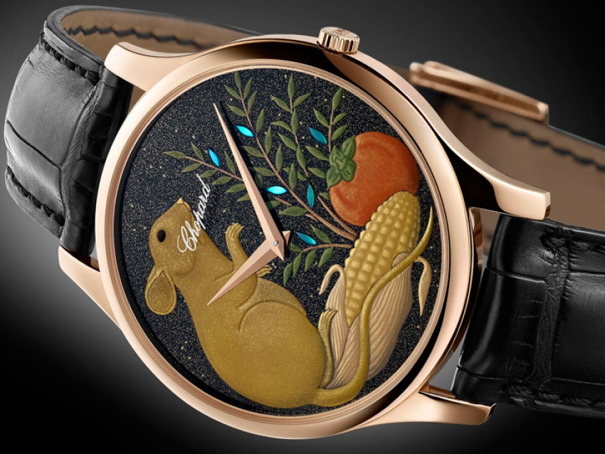 Chopard lanza el sofisticado L.U.C XP Urushi Year of the Rat