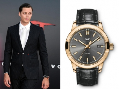 "El elegante IWC de Bill Skarsgard en la premiere de ""It Chapter Two"""