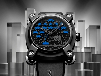Romain Jerome y su homenaje a Space Invaders