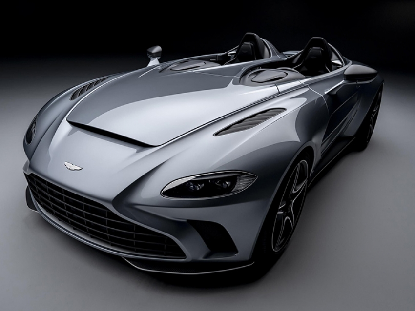 El exclusivo Aston Martin V12 Speedster
