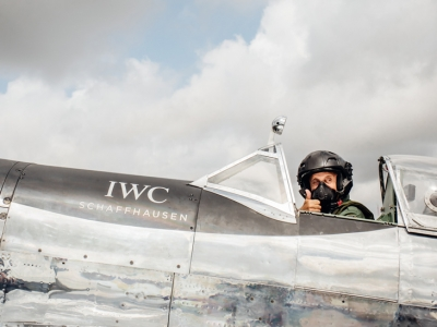 "IWC celebra el inicio de la expedición ""Silver Spitfire – The Longest Flight"""