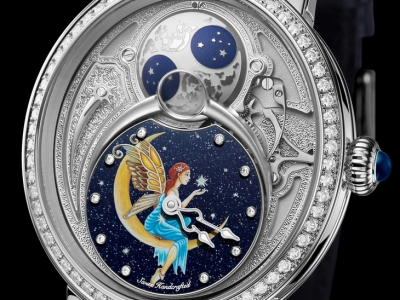 Bovet se suma a Only Watch 2019 con el reloj Récital 23 Hope