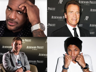 The watches Audemars Piguet chosen by the celebrities