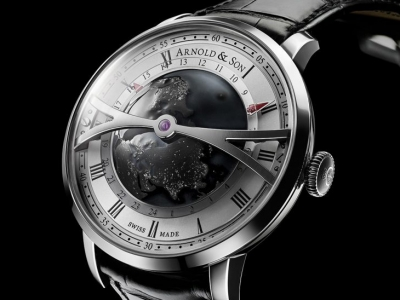 Arnold & Son sorprende con el Globetrotter Night